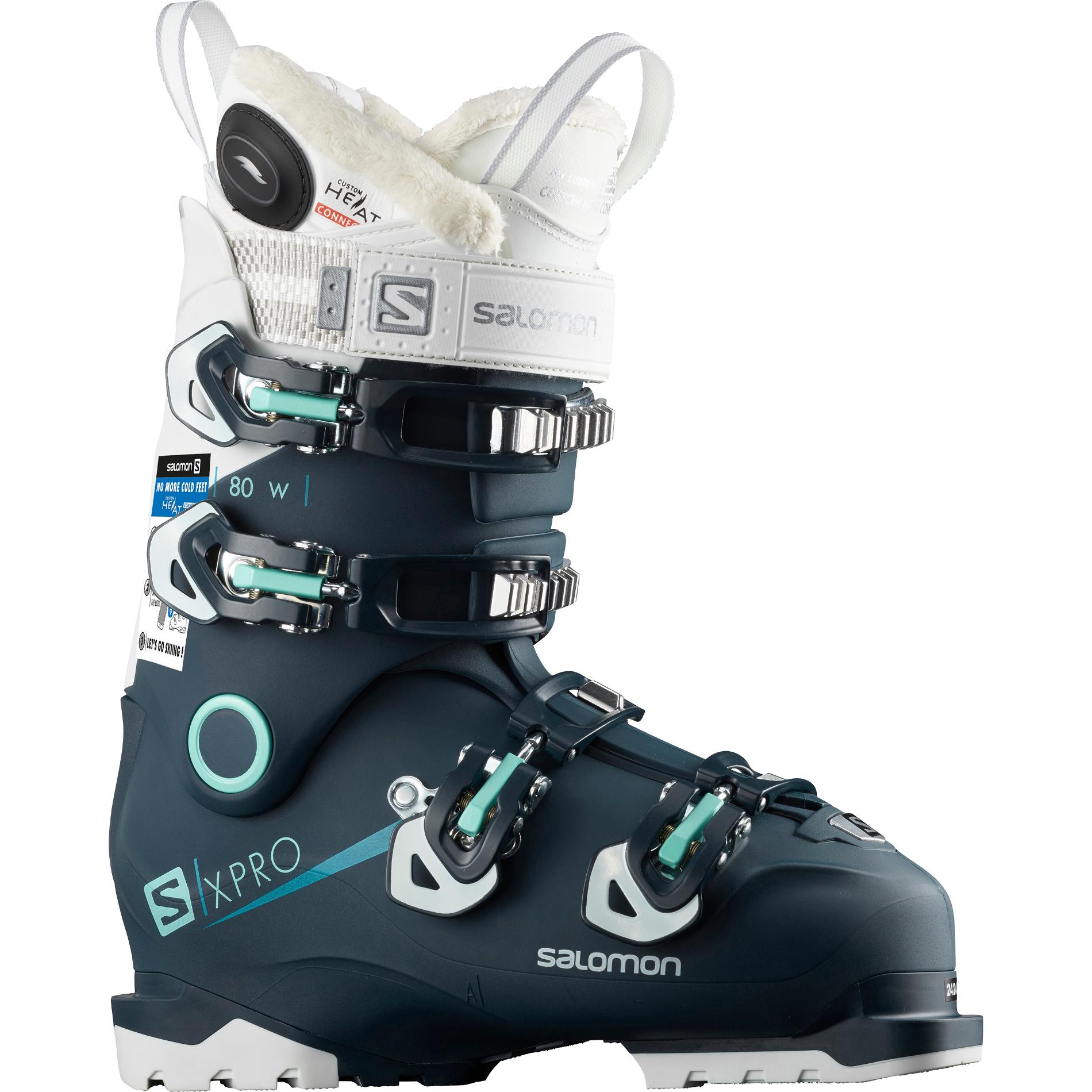 Buty narciarskie SALOMON X Pro 90W Custom Heat Connect 2019